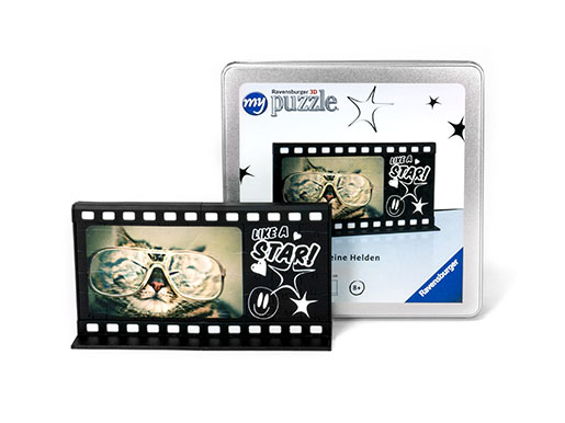 3D Puzzle Film-strip photo frame MovieWall Box