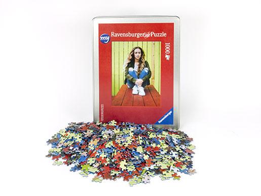 my Ravensburger Puzzle - 1000 pieces