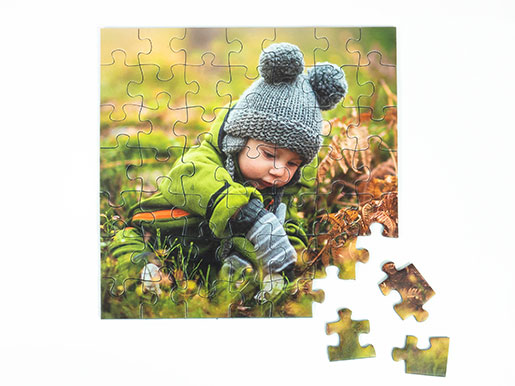 Design your very own photo jigsaw for even more puzzle fun
